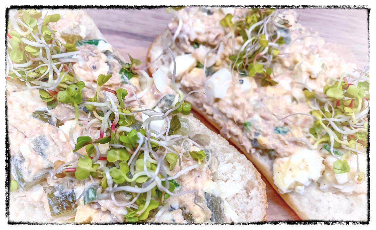Pasta z tuńczyka i jajek
