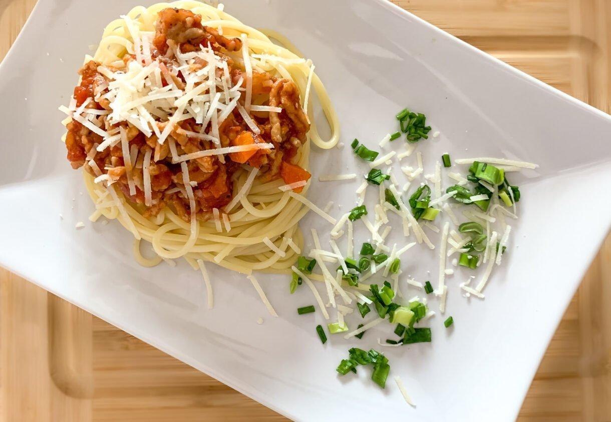 Polsko - włoskie spaghetti Bolognese