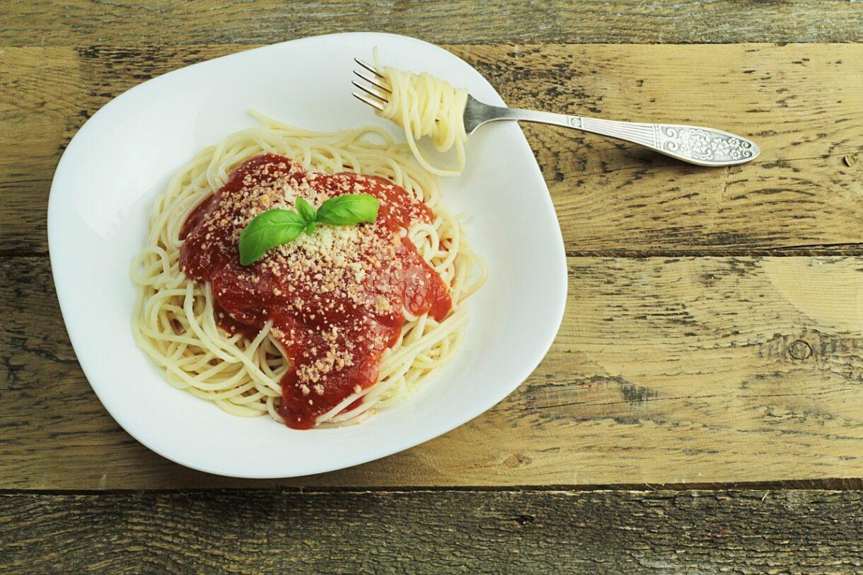 Pomidorowe spaghetti