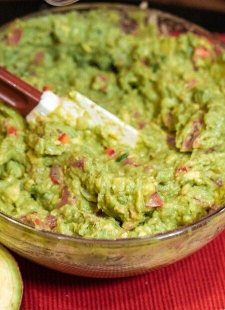 Kremowe guacamole