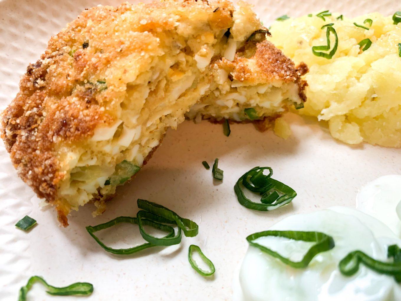 Kotlety jajeczne - piątkowy obiad