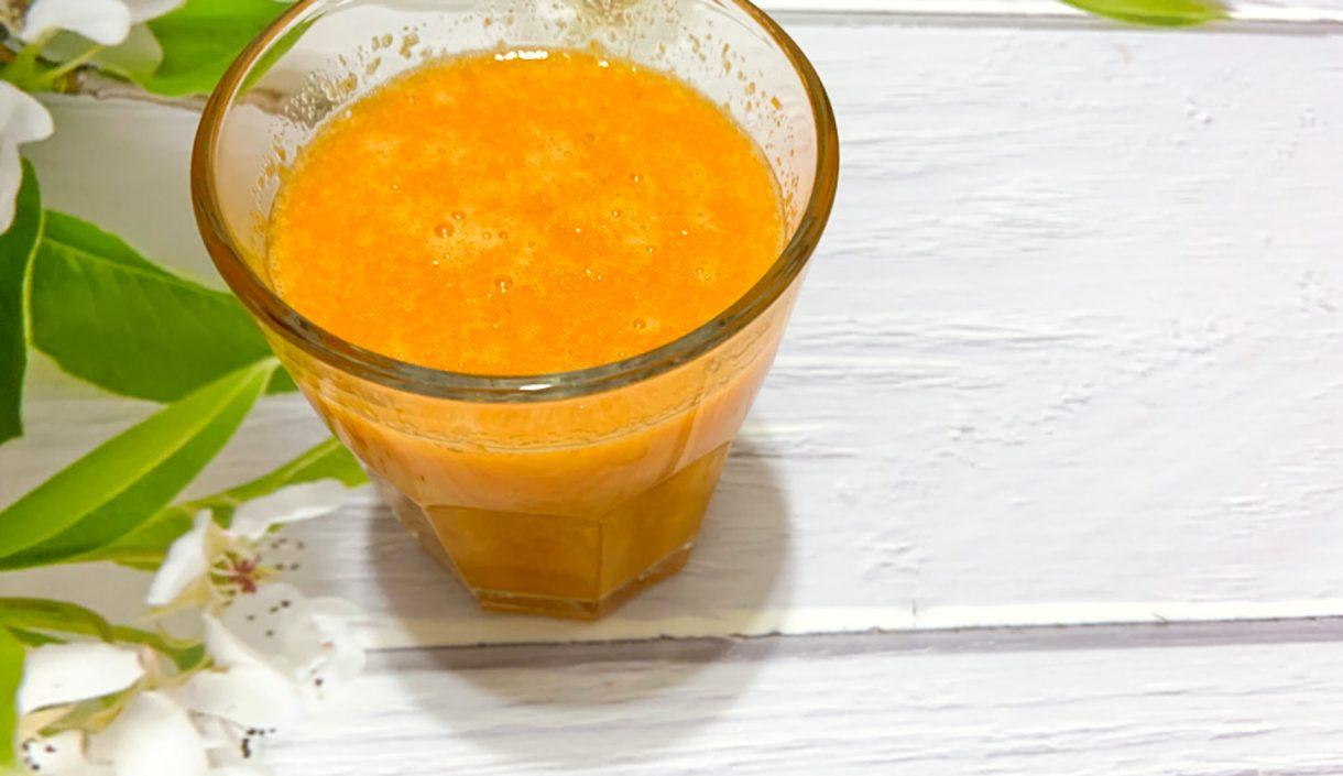 Sok mango - marchew - jabłko