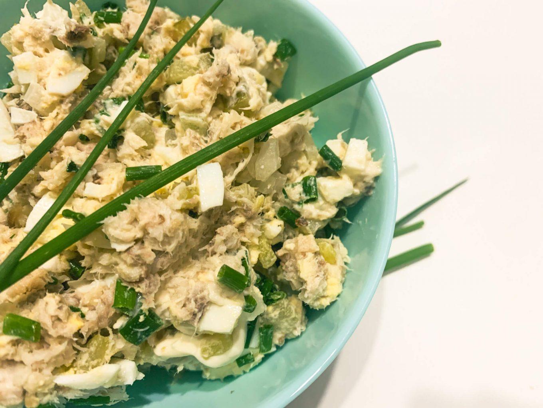 Pasta z makreli, z jajkiem i ogórkiem kiszonym